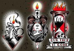 #trad #tat #traditional #tattoo #ink #tattooflash #girlstattoo #darkness #darkart #wacomart #sketchbookpro #olomouctattoo #wacomtattoo