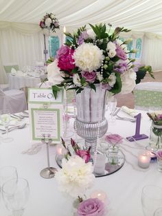 White lace & pearls.. Lilac & Rosenfelt peonies for that wow factor.. By Tj designer studio... & complimented with matching stationery by- village stationery