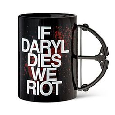 You never know when the folks at AMC have decided we've had enough of Daryl Dixon. This mug may help you cope with not knowing.
