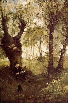 Portrait of Berthe Morisot and Her Daughter - Berthe Morisot - WikiPaintings.org