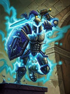 Card Name: Animated Armor Artist: Mike Sass Hearthstone Heroes Of Warcraft, Dragons, Blizzard Warcraft, Fantasy Monster, Animation, Wow Art, Fandom, Medieval Fantasy, Video Game Art