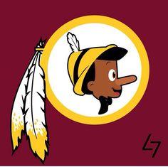 Washington Redskins - Pinocchio - Pinocchio