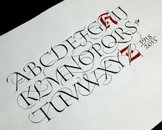 Roman Capital workshop with John Stevens at Cheerio. Lettering Styles Alphabet, Calligraphy Alphabet, Typography Letters, Lettering Ideas, Roman Letters, John Stevens, Letter Form, Penmanship, Pretty Tattoos