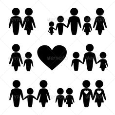 People Family Icons Set | Buy and Download: http://graphicriver.net/item/people-family-icons-set/6215649?WT.ac=category_thumb&WT.z_author=In-Finity&ref=ksioks