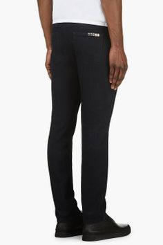 KENZO Navy Skinny Jeans