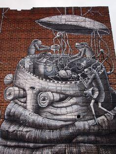 Phlegm, Robot, Sheffield