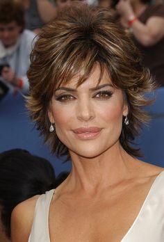 Lisa Rinna Latest Haircut | Lisa Rinna 33rd Annual Daytime Emmy Awards.Kodak Theatre, Hollywood ...