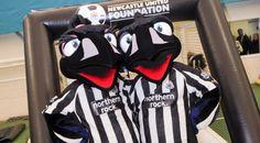 Monty Magpie - Newcastle United F.C.s mascot
