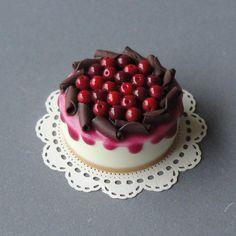 miniature Chocolate cherry cake