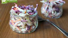 Englischer Krautsalat mit herzhaftem Dressing! Bunt, sättigend und einfach mega lecker!