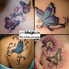 MARIPOSAS PARA TATUAJES  Para Tatuajes