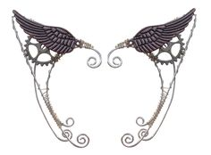 Wild West Wing Steampunk Elf Ear Cuff, Renaissance Ears – Hair Twisters