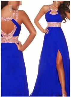 #prom #dress #beautiful #blue #sparkly