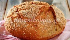 Greek Recipes, Wine Recipes, Cooking Recipes, Yummy Recipes, Bread Bun, Yeast Bread, Greek Bread, Croissant Donut, Greek Cooking