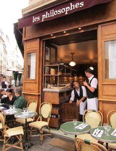 brasserie, cafe in paris