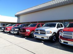 Ram Trucks for sale or lease at Mike Riehls'. 10-10-2013