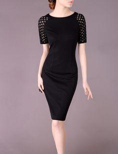 Black Pencil Dress Elegant Summer/Spring Dress 2014 by Chieflady