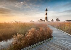 Destination: Outer Banks What is so intriguing and exciting about the Outer Banks of Cape Hatteras National Seashore that makes it Mark VanDyke's favorite of all time? Outdoor Photography, Landscape Photography, Photography Magazine, Bodie Island Lighthouse, Cape Hatteras Lighthouse, Outer Banks North Carolina, Canvas Pictures, East Coast, Strand