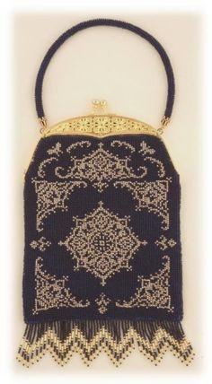 Chance ( Crocheted Beaded Purse Pattern ) PDF Digital Download