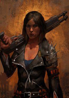 Shotgun Girl by Beaver-Skin on DeviantArt