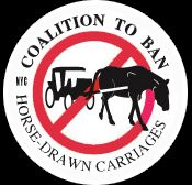 Ban Horse Drawn Carriages Coalition for New York City Animals. Take a pedi-cab or walk around Central Park!