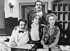 Fawlty Towers Poster 24 x 36 inches or 61 x 90 cm. John Cleese Prunella Scales as Basil Sybil Fawlty Poster is in brand new condition ships rolled inside a sturdy mailing tube. Sybil Fawlty, Connie Booth, Fawlty Towers, Charlie Chaplin, Actresses, Youtube, Poster, Pictures, Image