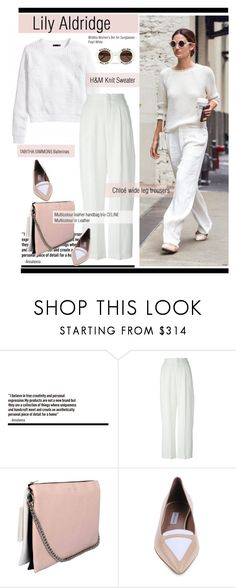 """""""Lily Aldridge Look"""" by spenderellastyle ❤ liked on Polyvore featuring Chloé, Tabitha Simmons, Wildfox, polyvoreeditorial and PolyvoreTrendReport"""