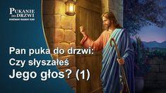 """Pan Jezus powiedział: """"Moje owce słuchają mego głosu"""" (Ewangelia Jana 10:27). Pan najwyraźniej powrócił i przemawia, szukając swoich owieczek. Najważniejszym zadaniem chrześcijan wyczekujących przyjścia Pana jest nasłuchiwanie Jego głosu. W jaki sposób można rozpoznać głos Pana? Czym różni się głos Boga od głosu ludzi? #KościółBogaWszechmogącego #Chrześcijaństwo #filmywideo #DuchŚwiętyprzyjdź #święty #DziękiBogu #Królestwoniebieskie #Tajemnicebiblii Knock Knock, Decir No, Lord, Movies, Movie Posters, End Of The World, Clouds, Films, Film Poster"""