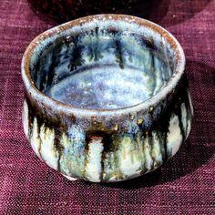 穂高隆児さん作朝鮮唐津ぐい呑笠間の土で作られてます穂高隆児個展Grand Bleu本日初日ですどうぞよろしくお願いします #織部 #織部下北沢店 #陶器 #器 #ceramics #pottery #clay #craft #handmade #oribe #tableware #porcelain