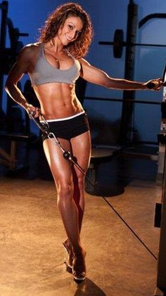 So I dont want to look EXACTLY like this but I do want to tone up a few areas!!! :)