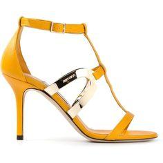 JIMMY CHOO 'Tebori' sandals (£658) ❤ liked on Polyvore