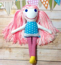 Soft doll Rag doll Handmade doll New Nursery Decor, Wall Decor, Soothing Colors, Hand Wrap, Soft Dolls, Linen Fabric, How To Look Pretty, Baby Items, Characters