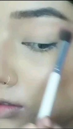 Simple Makeup, Natural Makeup, Pink Eyeshadow, Eye Makeup, Videos, Hair, Cara Makeup Natural, Makeup Eyes
