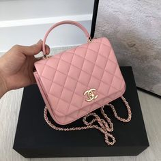 Purchase a Chanel Citizen Chic Mini Flap in Pink Lambskin at cheap rate- USD Free Global Shipping by courier. Chanel Handbags, Fashion Handbags, Purses And Handbags, Fashion Bags, Chanel Bags, Pink Chanel Bag, Gucci Bags, Luxury Purses, Luxury Bags