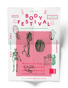 Body Festival by Natasha Tontey, via Behance