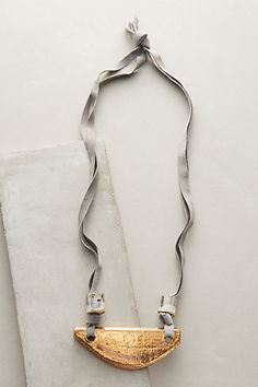 Minerva Pendant Necklace #anthropologie