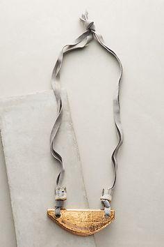 Minerva Pendant Necklace #anthropologie