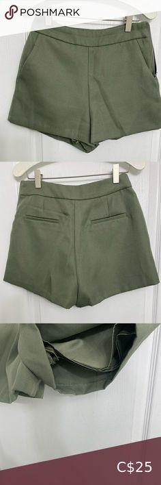 Forever 21 shorts Forever 21 shorts  Barely worn once in perfect condition  As seen zipper on the side Forever 21 Shorts