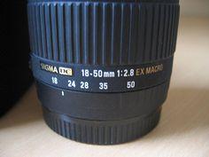 SIGMA 18-50 mm f / 2.8 EX DC Macro Canon WROCŁAW