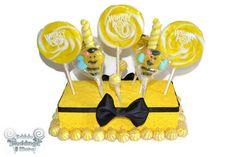 Lollipop Candy Bumble Bee Centerpiece Baby by EdibleWeddings, $24.99