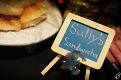 Sully's Sandwiches for a Monsters Inc. Party