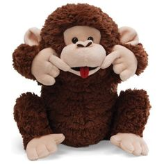 Gund Go Bananas Plush Monkey * Click image to review more details. (This is an affiliate link) #Puppets