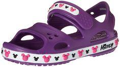 40db746ac crocs Crocband II Mickey PS Sandal (Toddler Little Kid)