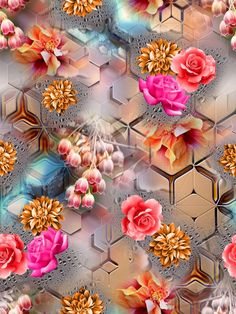Galaxy S8 Wallpaper, Print Wallpaper, Flower Wallpaper, Pattern Wallpaper, Wallpaper Backgrounds, Fabric Print Design, Design Textile, Textiles, Textile Prints