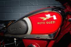 Винтажный мотоцикл Moto Guzzi Airone Astorino 1950