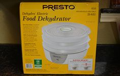 Presto Dehydro food dehydrator | Review from #SurvivalLife SurvivalLife.com