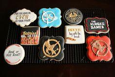 Hunger Games cookies...yummie or dangerous?