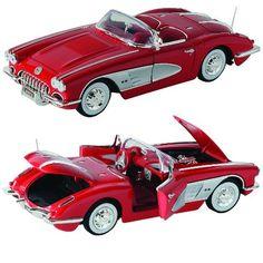 1958 Corvette Die Cast Model