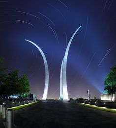 us air force memorial - virginia, anything with the AF ,, gives me goosebumps