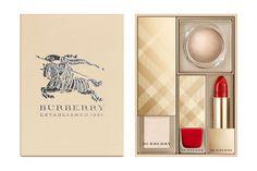 Idée cadeaux de Noël : Coffret Festive Beauty Box, Burberry, 121,90 €.